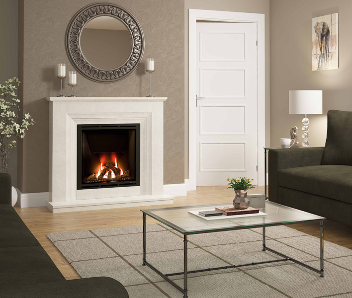 Vitalia 48 Gas Fireplace LR