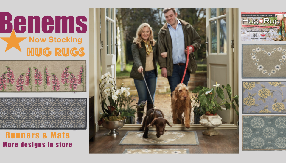 News at Benems, Now Stocking Hug Rugs