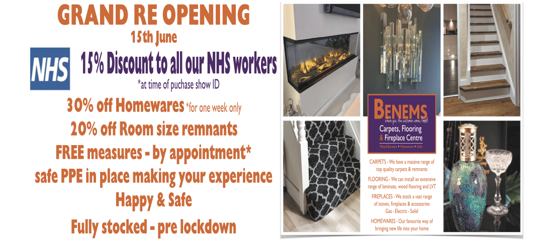 Benems Re-Opening Post Cvid-19 Restrictions