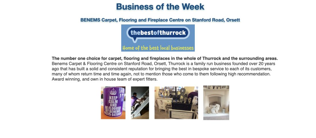 Best of Thurrock: Business of the Week-Benems